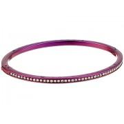 Michael Kors Brilliance Pave Bangle Bracelet Purple