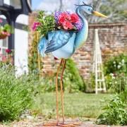 Kerti dekorációs ültető virágcserép gém 80 cm