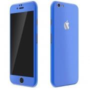 Apple iPhone 6 Plus / 6s Plus FoliaTa Skin Kit Carbon Fata / Spate, Blue