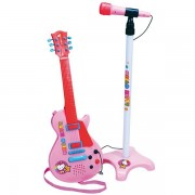 Set Guitare Et Microphone Hello Kitty