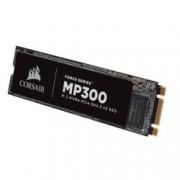 SSD 240GB, Corsair Force Series MP300, PCIe NVMe 3.0 x2, M.2 (2280), скорост на четене 1580 MB/s, скорост на запис 920 MB/s