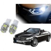 Auto Addict Car T10 5 SMD Headlight LED Bulb for Headlights Parking Light Number Plate Light Indicator Light For Mercedes Benz E-Class