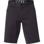 Pantaloni bărbătești scurți FOX - Stretch Chino - Black Vintage - 21163-587