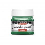 Pentart Fényes zöld színű akril bázisú hobbi festék 50 ml