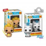 Baby Hercules Y Baby Pegaso Funko Pop Pelicula Disney 2018
