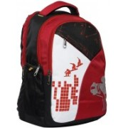 Good Friends College backpacks Hi Storage 30 L Backpack(Red, Black)