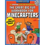 The Great Big Fun Workbook for Minecrafters: Grades 1 & 2: An Unofficial Workbook, Paperback