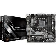 MB, ASRock B450M PRO4 /AMD B450/ DDR4/ AM4 (90-MXB8F0-A0UAYZ)