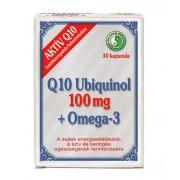 Q10 Ubiquinol 100mg Omega 3 kapszula 30x *