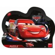 Puzzle cu rama Dino Toys Cars 25 piese Multicolor