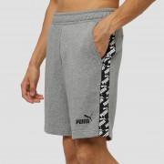 PUMA Amplified korte broek grijs heren Heren - grijs - Size: Extra Large