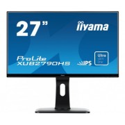 iiyama 27' ULTRA SLIM LINE , 1920x1080, IPS-panel, 250 cd/m², 13cm Height Adj. Stand, Speakers, VGA, DVI , HDMI, 5ms