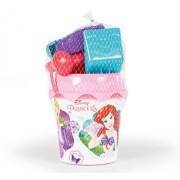 Galetusa cu accesorii pentru nisip, Smoby Disney Princess