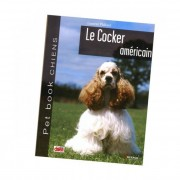 "Artemis Livre ""Cocker Américain"" Collection Pet Book"