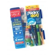 20 Piece Stationery Kit