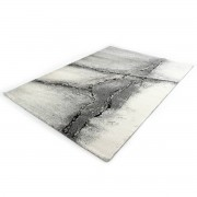 Merinos Marmer Design Vloerkleed - Ibiza 606-95 Earth - Grijs-80 x 150 cm