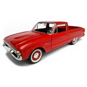 1960 Ford Falcon Ranchero Pickup Red 1/24 by Motormax 79321