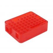 tiendatec CAJA LEGO ROJA PARA ARDUINO UNO R3