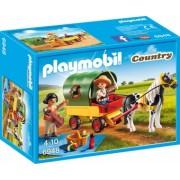 PlayMobil 4Ani+ Trasura cu Ponei si Picnic