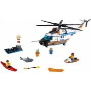 Lego Конструктор Lego City 60166 Лего Город Сверхмощный спасательный вертолёт