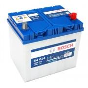 Bosch S4 12V 60Ah 540A Jobb+ ázsiai autó akkumulátor