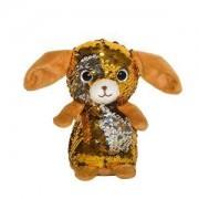 Детска плюшена играчка - Кученце с пайети, 14см., 391086