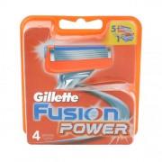 Gillette Fusion Power wkład do maszynki 4 szt dla mężczyzn