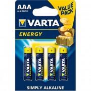 Elem, AAA mikro, 4 db, VARTA \Energy\ [4 db]