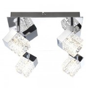 Plafonier cu sporuri directionabile power LED Ankara 56193-4 GL