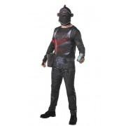 Rubies Disfraz de Black Knight Fortnite para adulto - Talla M