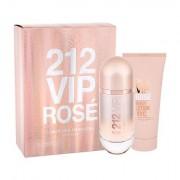 Carolina Herrera 212 VIP Rosé confezione regalo Eau de Parfum 80 ml + lozione per il corpo 100 ml da donna