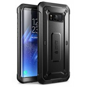 Galaxy S8+ Plus Case, SUPCASE Full-Body Rugged Holster Case with Built-in Screen Protector for Samsung Galaxy S8+ Plus (2017 Release), Unicorn Beetle PRO Series - Retail Package (Black)