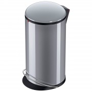 Hailo Harmony L Tret-Mülleimer Silber