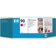 HP Cartucho de Tinta Original HP 90 de 225 ml C5062A Magenta para HP DESIGNJET 4000 , 4500, 4520