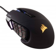 Corsair Gaming Scimitar Pro RGB optisk Gaming Mus 16000DPI - svart