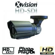 Profi HD-SDI IR CCTV kamera s nočným videním do 50m + 6m ŠPZ