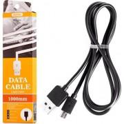 Accesoriu pentru imprimanta remax Remax Light Data Cable RC-006m kabel USB micro USB 1M negru uniwersalny