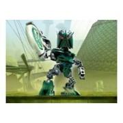 Lego Bionicle Matoran of Metru Nui Mini Figure Set #8611 Orkahm (Green)