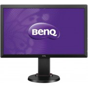 "Monitor LED BenQ 24"" RL2460HT, Full HD (1920 x 1080), VGA, DVI-D, HDMI, 1 ms GTG, Boxe (Negru)"