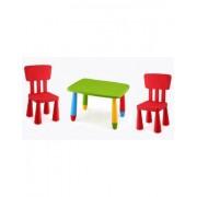 DESKandSIT Conjunto mesas para pequeños más 2 sillass cpu2003009-de-