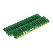 Kingston ValueRAM - DDR3 - 16 Go: 2 x 8 Go - DIMM 240 broches - 1333 MHz / PC3-10600 - CL9 - 1.5 V - mémoire sans tampon - non ECC