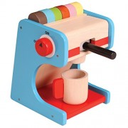 Coffee Maker - Wooden Toys - Brainsmith - Early Learning - Pretend Play - Imagination - Role Play toys - Story telling Activity - Creativity building - Birthday gift - Return Favour - Play and Learn - Child safe toys - 3 years and above