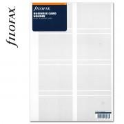 Filofax Kártyatartó Névjegykártya A4 Átlátszó
