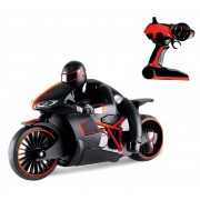 Funny Box R/C Flash Motorcycle - Black/Red