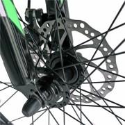 Bicicleta Mtb-Ht 26 Carpat Forester C2653B cadru otel culoare verdealbastru