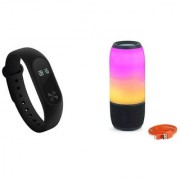 M3 fitness band and Pulse 3 bluetooth speaker|Smart phones compatiable fitness band|| Heart rate band||Health Watch|| Calories Tracker Band|| Step Count Band||fitness tracker|| bluetooth smart band ||Wrist Watch band|| smart band ||With Alarm System||Best