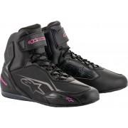 Alpinestars Stella Faster-3 Ladies Motorcycle Shoes Black Pink 36