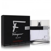 F Black For Men By Salvatore Ferragamo Eau De Toilette Spray 3.4 Oz
