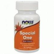 Мултивитамини Special One Multi - 90 таблетки, NOW FOODS, NF3856