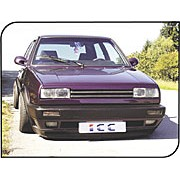 Paupiere de phare VW GOLF II Rallye Inf. GFK